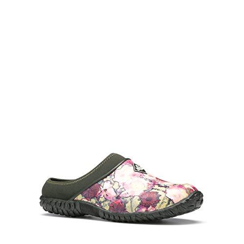 Muck Boot Women's Muckster II Clog Ankle Boot, Moss Green, 7 Medium US ()