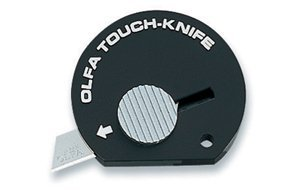 12 PACK: Olfa Touch Knife TK-4B Color Black Model 9537