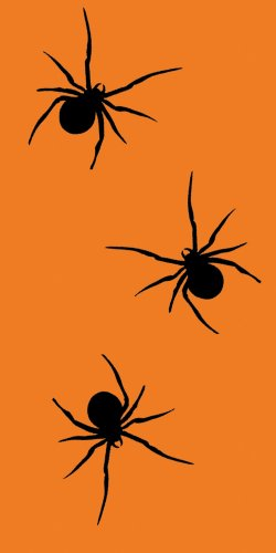Creative Converting Swankies Spooky Spiders Fashion Decorative Pocket Tissue Package for Parties]()