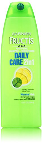 Conditioner Moisturizing Shampoo (Garnier Fructis Daily Care 2-in-1 Shampoo and Conditioner, 13 Fluid Ounce)