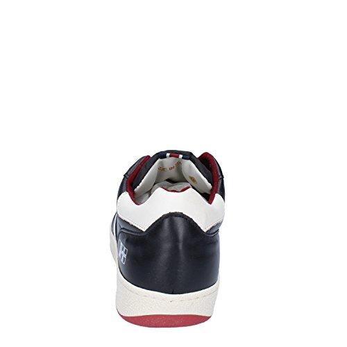 DAcquasparta Sneaker Hombre Cuero (41 EU, Negro)