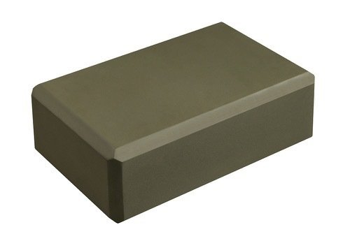 "Hello Fit 3"" Yoga Block (4"" x 6"" x 9"") - Studio 10 Pack (Olive Green)"