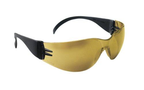 SAS Safety 5344 NSX Eyewear with Polybag, Gold Mirror Lens/Black - Part Image Temple Body
