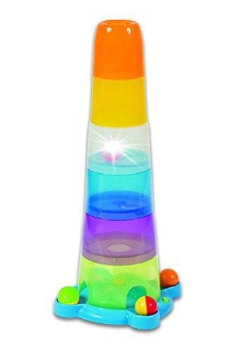 31xnV3punnL - Small World Toys IQ Baby - Stack o' Fun Balls and Cups Set B/O