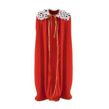 Beistle 60253 Adult King/Queen Robe, 4-Feet