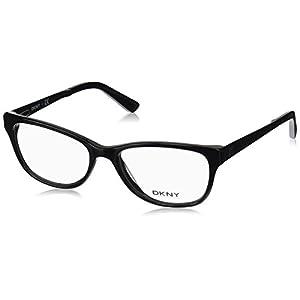 DKNY DY4672 Eyeglass Frames 3694-51 - Black/satin Black