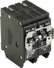 Eaton BQC220230 Quad Breaker 1 - 2P 20A X 1 - 2P 30A Ct, 1 '' x  1 '' x  1'' by Eaton (Image #1)