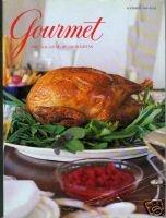 Gourmet Magazine Covers - Gourmet (The Magazine of Good Living) - November, 1996