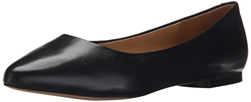 Trotters Women's Estee Ballet Flat, Black, 10.0 2W US from Trotters