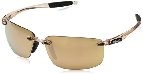 Revo Sunglasses for Men Women - Polarized Rimless Styles - Multiple Frames and Lens Colors