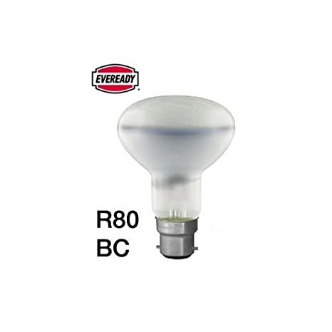 8 x Eco Energy Saving R80 Reflector Equivalent 60w Spot Light Bulb ES E27 Screw Fit Halogen Eco 42w = 60W Long Life Lamp Company