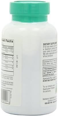 Quantum Health Super Lysine+ / Advanced Formula Lysine+ Immune Support with Vitamin C, Echinacea, Licorice, Propolis, Odorless Garlic (180 Tablets)