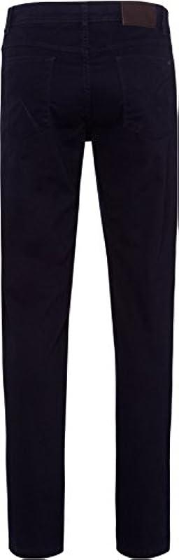 BRAX Męska perma niebieski (Nos) Style Cooper Fancy Marathon tkanina płaska: Odzież
