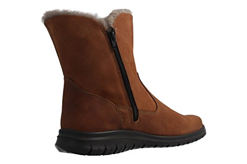 Jomos - Botas de Piel Lisa para mujer marrón marrón