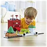 Fisher Price Rollers Roll & Go Fire Station