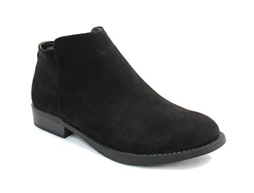 Women's Western Pointed Toe Slip on Ankle Boot by Kali Footwear (10 B(M) US, (Footwear For Women)