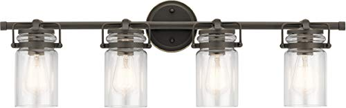 Kichler Lighting 45690OZ Four Bath from The Brinley Collection
