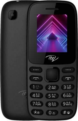 Itel it2163 Keypad Phone with 2000 Contacts Memory and Multi-Language