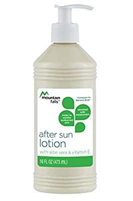 Mountain Falls After Sun Lotion with Aloe Vera and Vitamin E, Compare to Banana Boat, 16 Fluid Ounce
