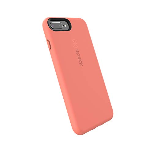 Speck Products CandyShell Fit Cell Phone Case for iPhone 8 Plus - Apricot Peach/Apricot Peach - Fit Case Phone