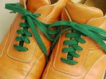 靴ひも.com・スニーカー用コットン靴紐(平・No.604-L・8.5mm幅)・260cm