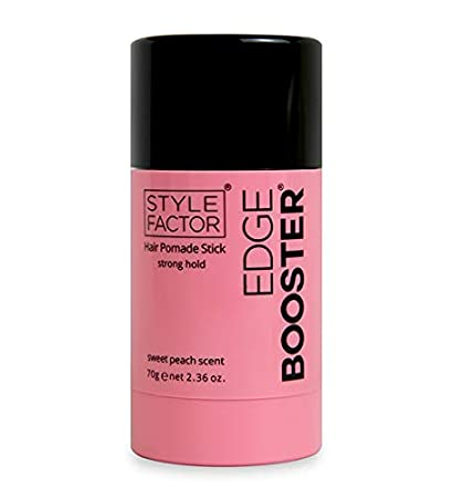 Style Factor Edge Booster Hair Pomade Stick Strong Hold 2.36 oz (SWEET  PEACH)