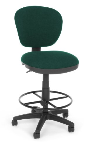 OFM 150-DK-120 Lite Use Computer Task Stool with Drafting Kit (Chair Drafting Use Lite)
