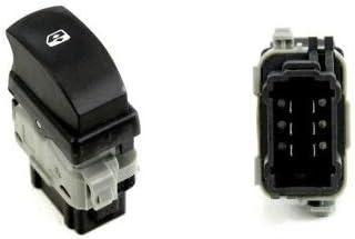 GoGoEu Interruptor elevalunas el/éctrico para Clio 3 Symbol Modus con 6 Pines Oe 8200214936