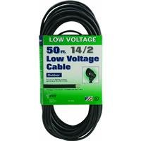 Coleman Cable 095035008 14/2 Low Voltage Lighting Cable, 50-Feet