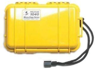 Pelican 1040 - Case 6.5X3.87X1.75In Blk/YEL