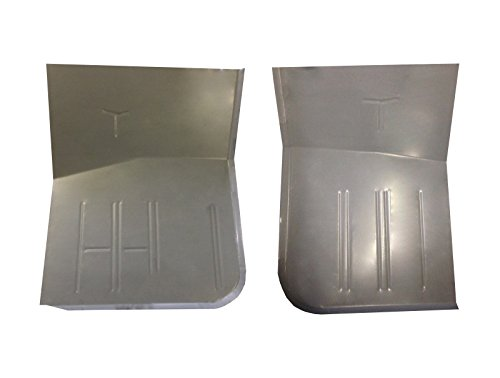 Motor City Sheet Metal - 1967-1979 Ford F100 F150 F250 & Bronco Front Floor Pan Pair