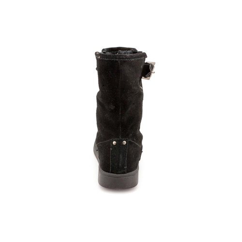 5 M Boots Shoes New Black Mid Fisher Ladies Calf Earra Marc pv7zYqH