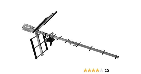 One For All SV 9351 antena amplificada al aire libre 45 dB