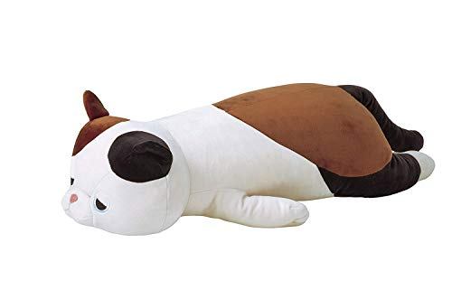 Livheart Mike-Neko Premium Nemu Nemu Sleepy Head Animals Body Pillow Plush Lucky 3color Calico Cat