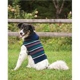 Fashion Pet Outdoor Dog Woodland Hooded Sweater, Small, Blue