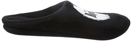 Bafiz the Beatles Drum Slipper, Pantuflas para Hombre Negro (Black 005)