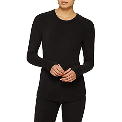 ClimateRight Long Sleeve Crew Stretch Fleece at Women's Clothing store
