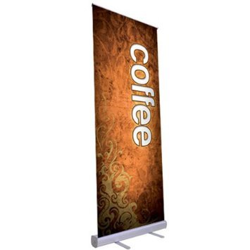 33'' x 79'' Economy Rollup Retractable Banner Stand