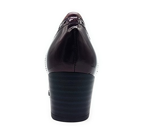 PITILLOS Women's Burgundy PITILLOS PITILLOS Court Women's Women's Court Shoes Burgundy Shoes dSRwXqg