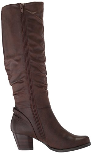 Bt Brown Baretraps Respect Riding Dark Boot Women's Pn7765qw