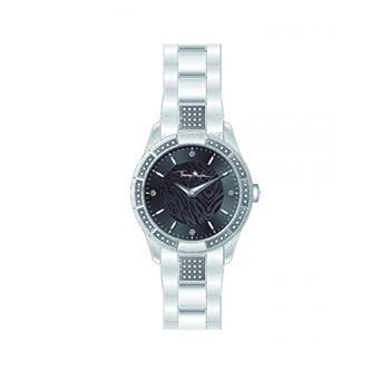 Thierry Mugler Damen-Armbanduhr Analog Quarz Edelstahl 4722701