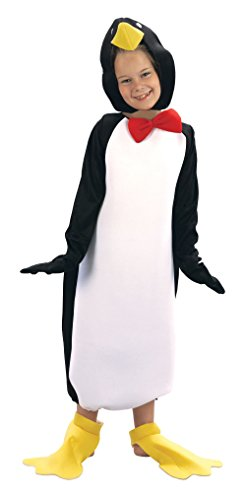 Bristol Novelty Penguin Comical Costume Medium Child Age 5 - 7 Years