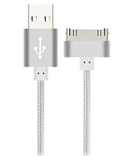 YOMYM Cable de Datos USB de Carga y Sincronización Dock Connector para iPhone 4/4S, iPhone 3G/3GS, iPad 1/2/3, iPod Touch,...