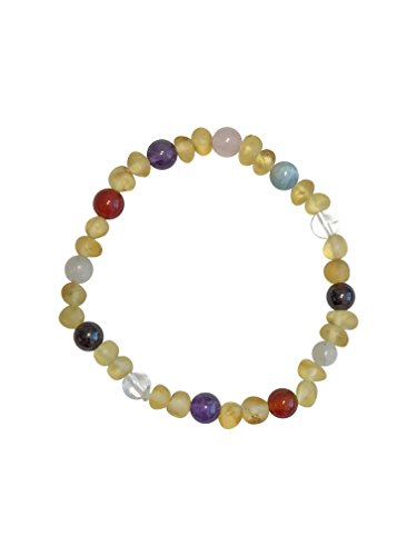 The Post-Partum Bracelet by Umai: Helps Reduce Post-Partum Anxiety, Stress, Lack of Energy and Baby Blues in New Moms (7 inch Bracelet)