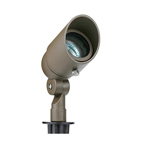 Lumina Lighting Hooded Spot Light, Bronze Finish SFL0104-BZ (3)