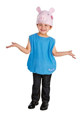 Boy's George Pig Costume 2T (Peppa Pig Toddler Costume)
