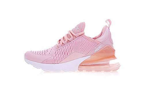 Air Li Max 270 Women's Running Sneakers Training Shoes 1 (37.5/6.5USWomen, Pink-White)