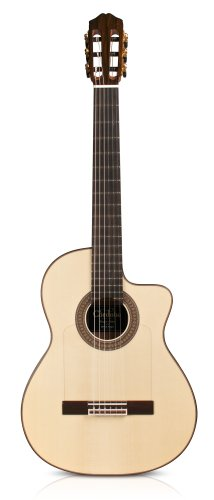 Cordoba 55FCE Negra Limited Edition Acoustic-Electric Thinbody Flamenco Guitar