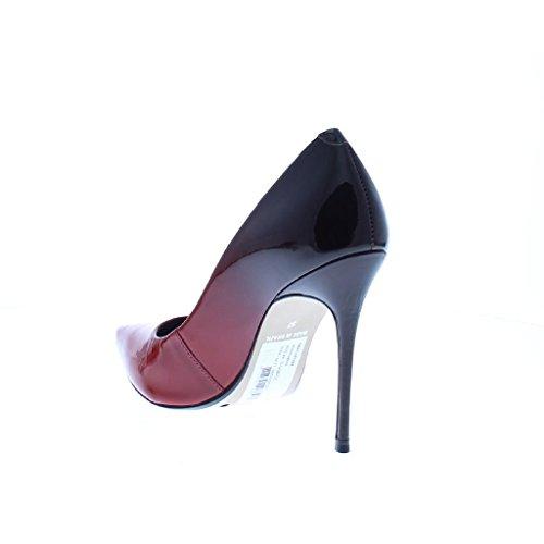 Rose Femme Rouge Pour Escarpins Bronx 36 qwvCE
