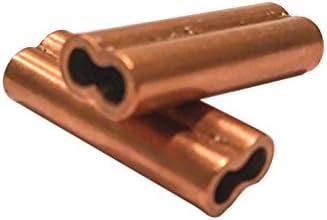 riptail銅ダブルバレル圧着スリーブ